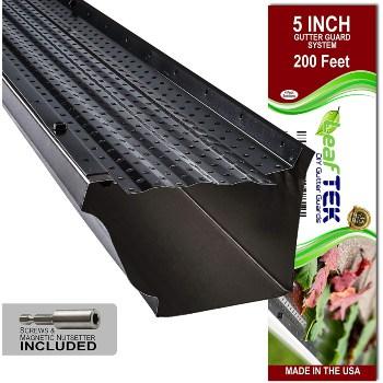 LeafTek Aluminum Gutter Protection